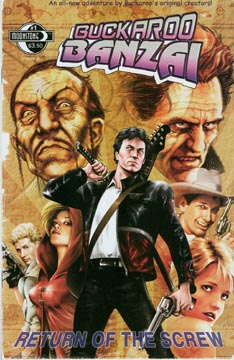 Buckaroo Banzai: Return of the Screw #1A