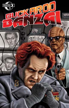 Buckaroo Banzai: Return of the Screw #3DA(signed)