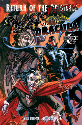 064. Return of the Monsters: BLACK BAT vs Dracula