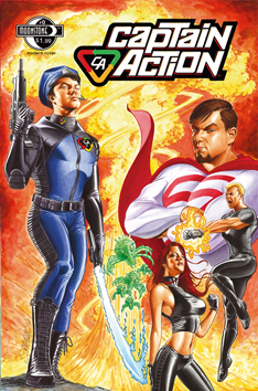 Captain Action: #0 (signed)