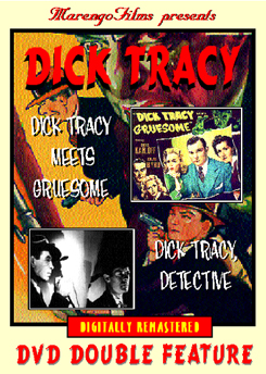 Dick Tracy DVD double feature