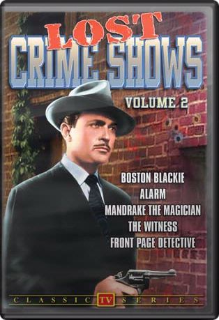 Lost Crime Shows vol.2 DVD