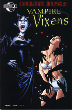 Moonstone Monsters: Vampire Vixens (signed)