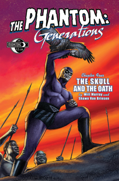 119. The Phantom: Generations #4 (signed)