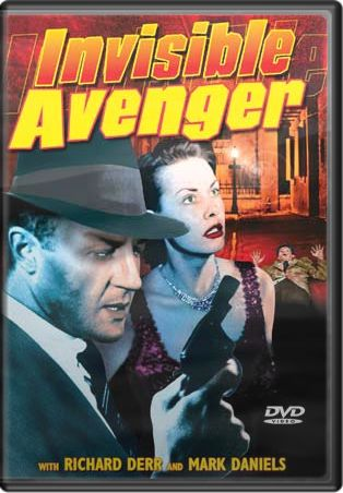 The Shadow: Invisible Avenger DVD