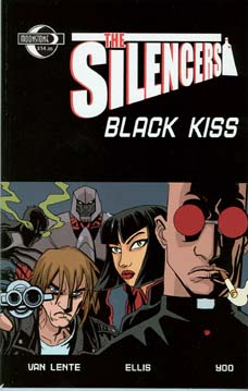 The Silencers: Black Kiss TPB