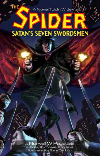 055. The SPIDER: Satan's Seven Swordsman GN
